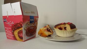 Cupcake Motta alla ciliegia