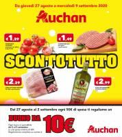 Copertina Volantino Auchan Casamassima Bari