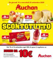 Copertina Volantino Auchan Roma
