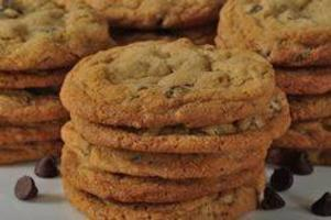 biscotti con gocce di cioccolato e frutta secca