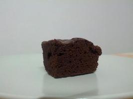 brownie nel piatto