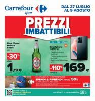 Copertina Volantino Carrefour Roma e Lazio