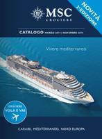 Copertina Catalogo MSC Crociere