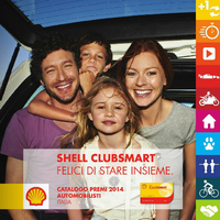 Copertina Catalogo Premi Shell