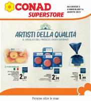 Copertina Volantino Conad Superstore Tirreno: Toscana, Lazio e Sardegna