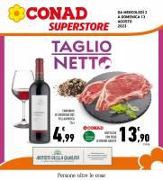 Copertina Volantino Conad Superstore: Lazio e Campania