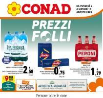 Copertina Volantino Conad Adriatico: Abruzzo, Molise, Puglia, Marche, Basilicata