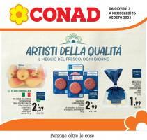 Copertina Volantino Conad Nordiconad: Piemonte, Liguria, Trentino, Valle d'Aosta, Romagna