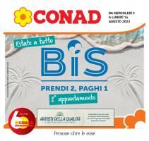 Copertina Volantino Conad Lombardia ed Emilia