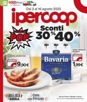 Copertina Volantino IperCoop Liguria
