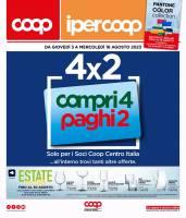 Copertina Volantino IperCoop Centro Italia