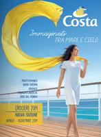 Copertina Catalogo Costa Crociere