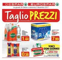 Copertina Volantino Despar Interspar Puglia