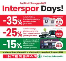 Copertina Volantino Despar, Eurospar, Interspar: Speciale