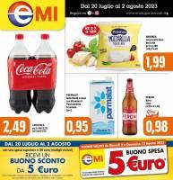 Copertina Volantino EMI Supermercati