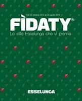 Copertina Catalogo Premi Esselunga: Fidaty 2012 2013