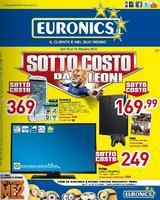 Copertina Volantino Euronics Sottocosto Ottobre 2013