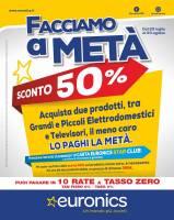Copertina Volantino Euronics (Gruppo Galimberti): Lombardia, Sardegna, Emilia Romagna