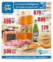 Copertina Volantino Eurospin Speciale Roma e Lazio