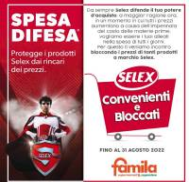 Copertina Volantino Famila Veneto Speciale