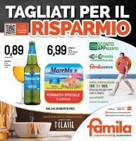 Copertina Volantino Famila Superstore: Veneto