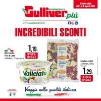 Copertina Volantino Gulliver