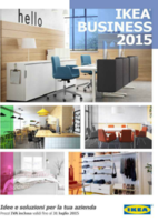 Copertina Catalogo Ikea Business 2015
