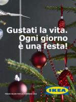 Copertina Volantino Ikea Natale