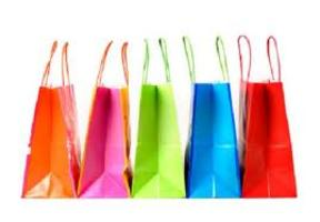 Shopping bags colorate