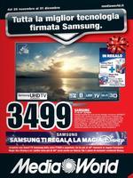 Volantino Mediaworld Speciale Samsung Novembre 2013