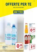 Copertina Volantino Metro Speciale
