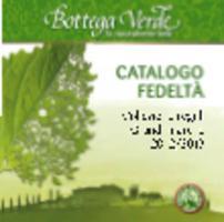 Copertina Catalogo Fedeltà Bottega Verde 2012/2013