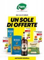 Copertina Volantino Supermercati Pam Milano