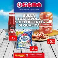 Copertina Volantino Supermercati Sigma Sardegna