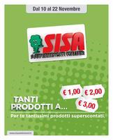 Copertina Volantino Sisa Lombardia, Piemonte, Liguria